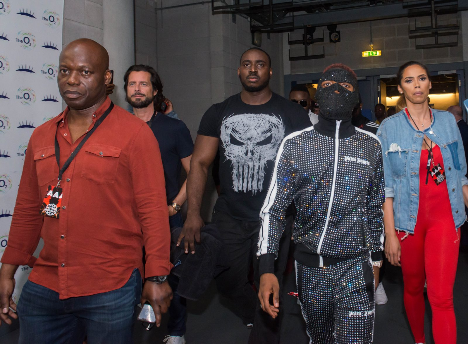 o2 Arena, London, United Kingdom. 26th May 2018.  wizkid on his way to the stage before his performances on stage during AFROREPUBLIK festival at The O2 Arena.