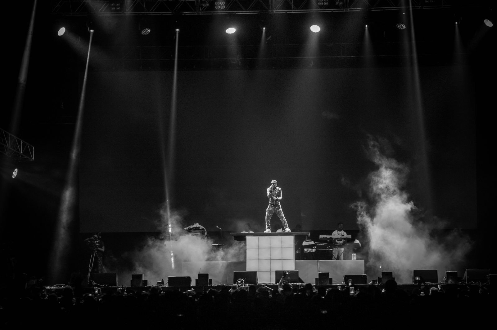 o2 Arena, London, United Kingdom. 26th May 2018. Wizkid performs on stage during AFROREPUBLIK festival at The O2 Arena.