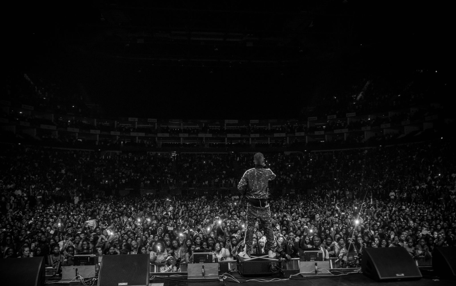 o2 Arena, London, United Kingdom. 26th May 2018. Wizkid performs on stage during AFROREPUBLIK festival at The O2 Arena. Michael Tubi / Alamy Live News