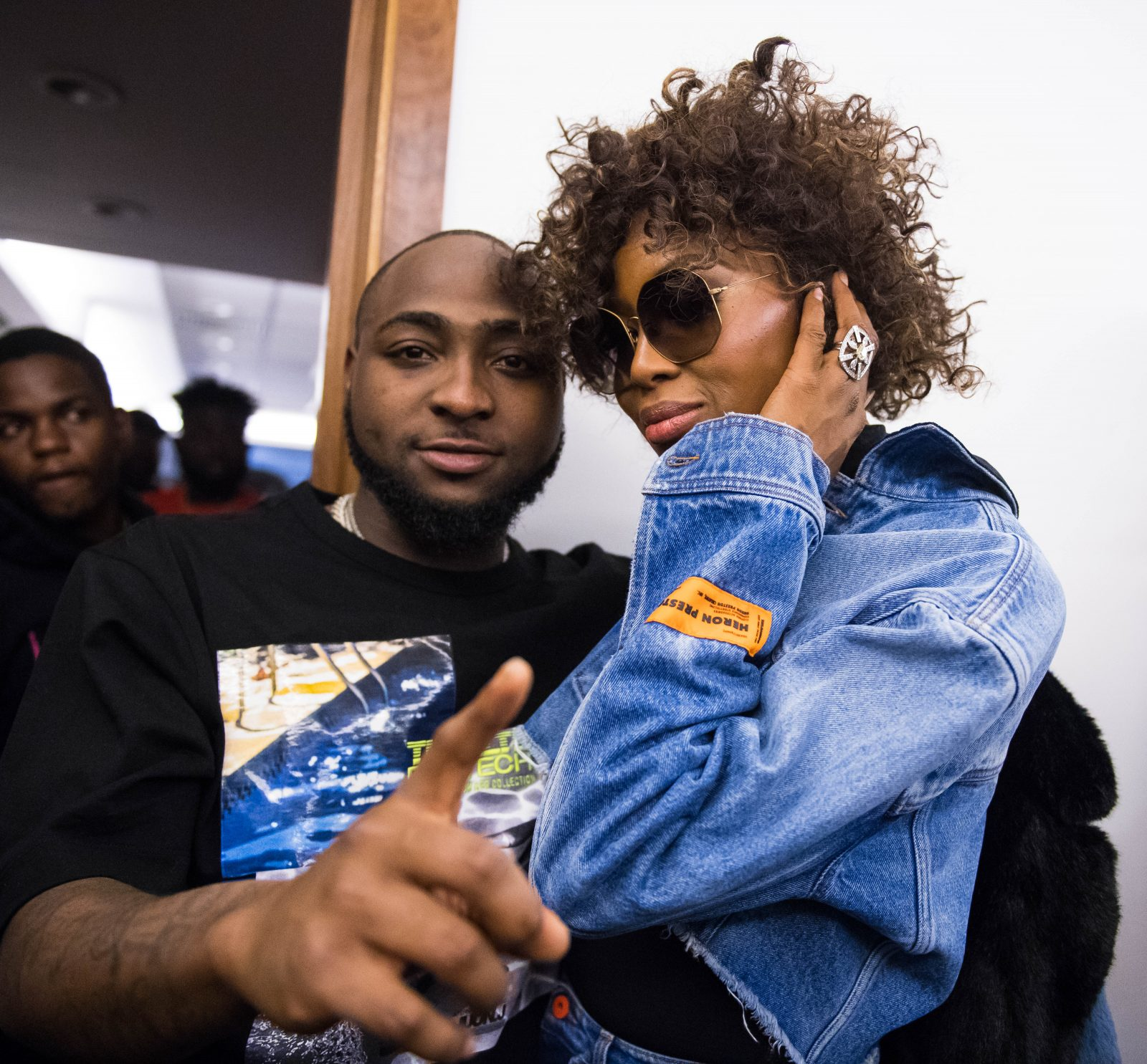 London, United Kingdom.  January 27, 2019. Supermodel, Naomi Campbell  attends Davido's concert. Davido performs live on stage at  The O2 Arena. Michael Tubi / Alamy Live News
