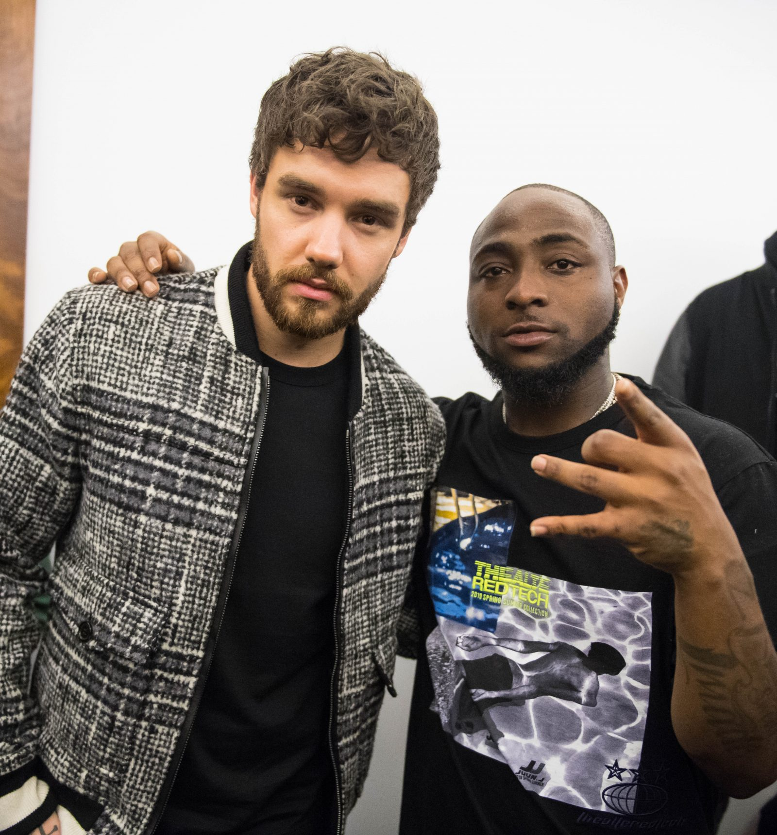 London, United Kingdom.  January 27, 2019. Singer Liam Payne attends Davido's concert. Davido performs live on stage at  The O2 Arena. Michael Tubi / Alamy Live News