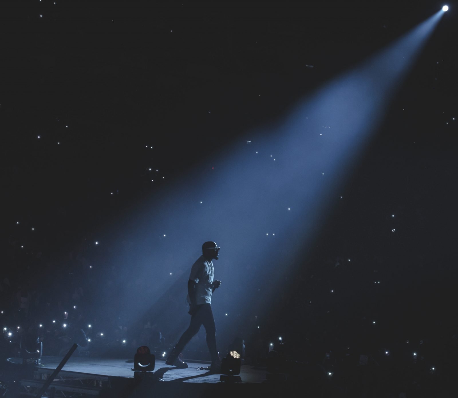 London, United Kingdom.  January 27, 2019. Davido performs live on stage at  The O2 Arena. Photographed by Michael Tubes
