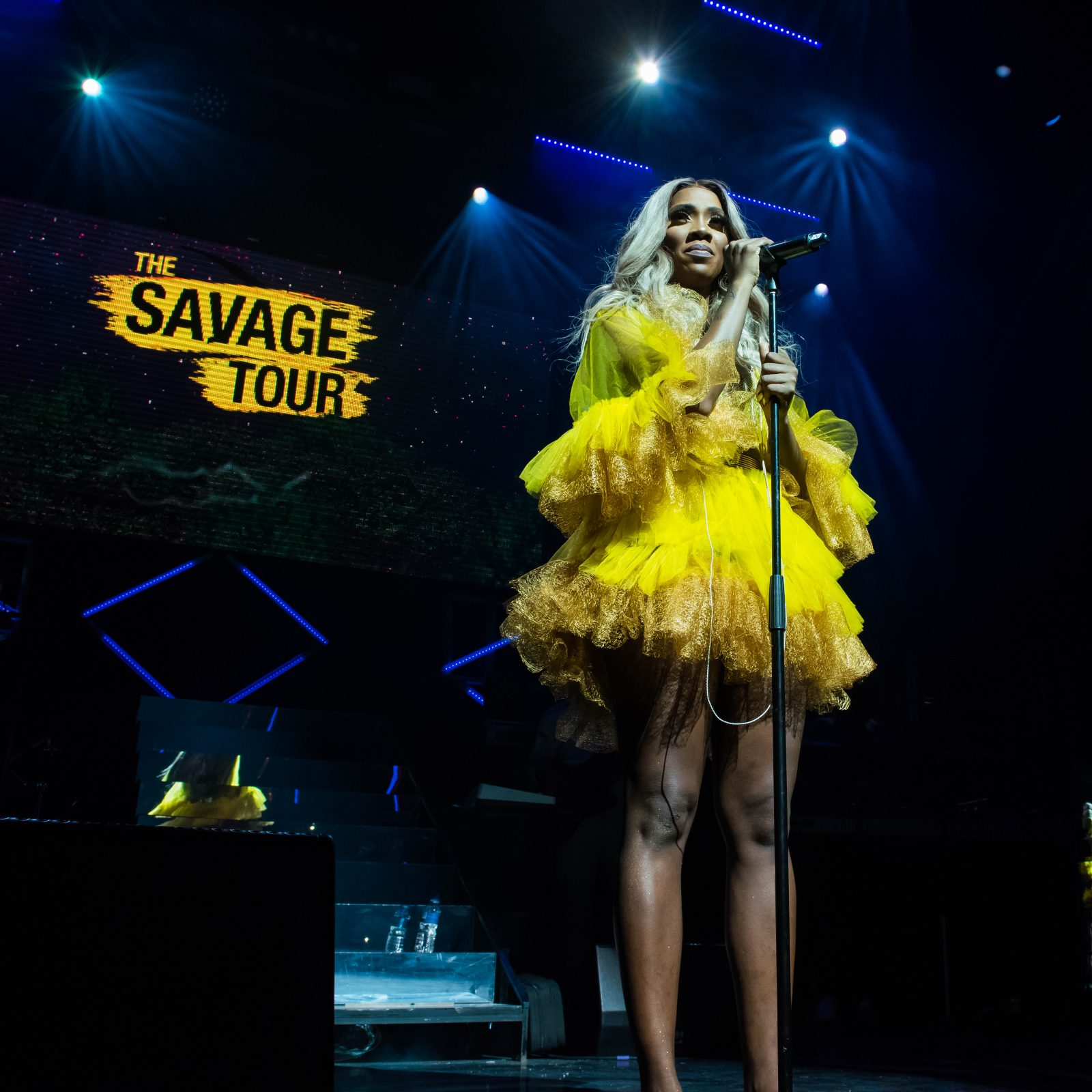 indigo at The O2, London, United Kingdom. 24th August 2018. Tiwa Savage performs on stage for her First solo concert at indigo O2. Photographed by Michael Tubes