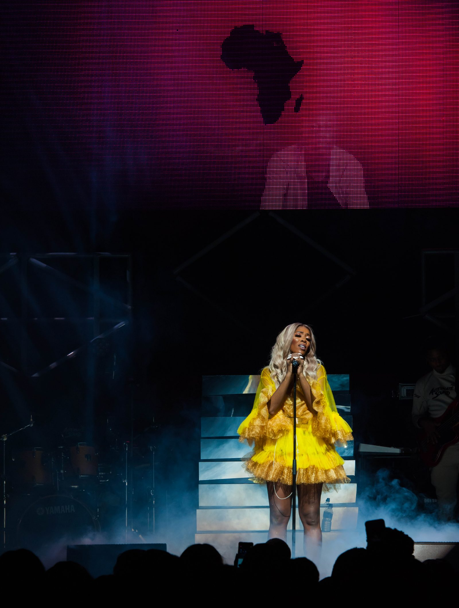 Indigo at The O2, London, United Kingdom. 24th August 2018. Tiwa Savage performs on stage for her First solo concert at indigo O2.