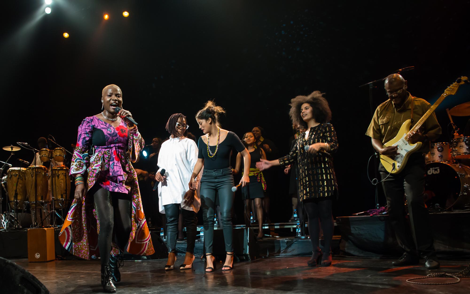 Royal Festival Hall, UK. 14th November 2014. Angelique Kidjo, Asa, Ibeyi performing at Royal Festival Hall