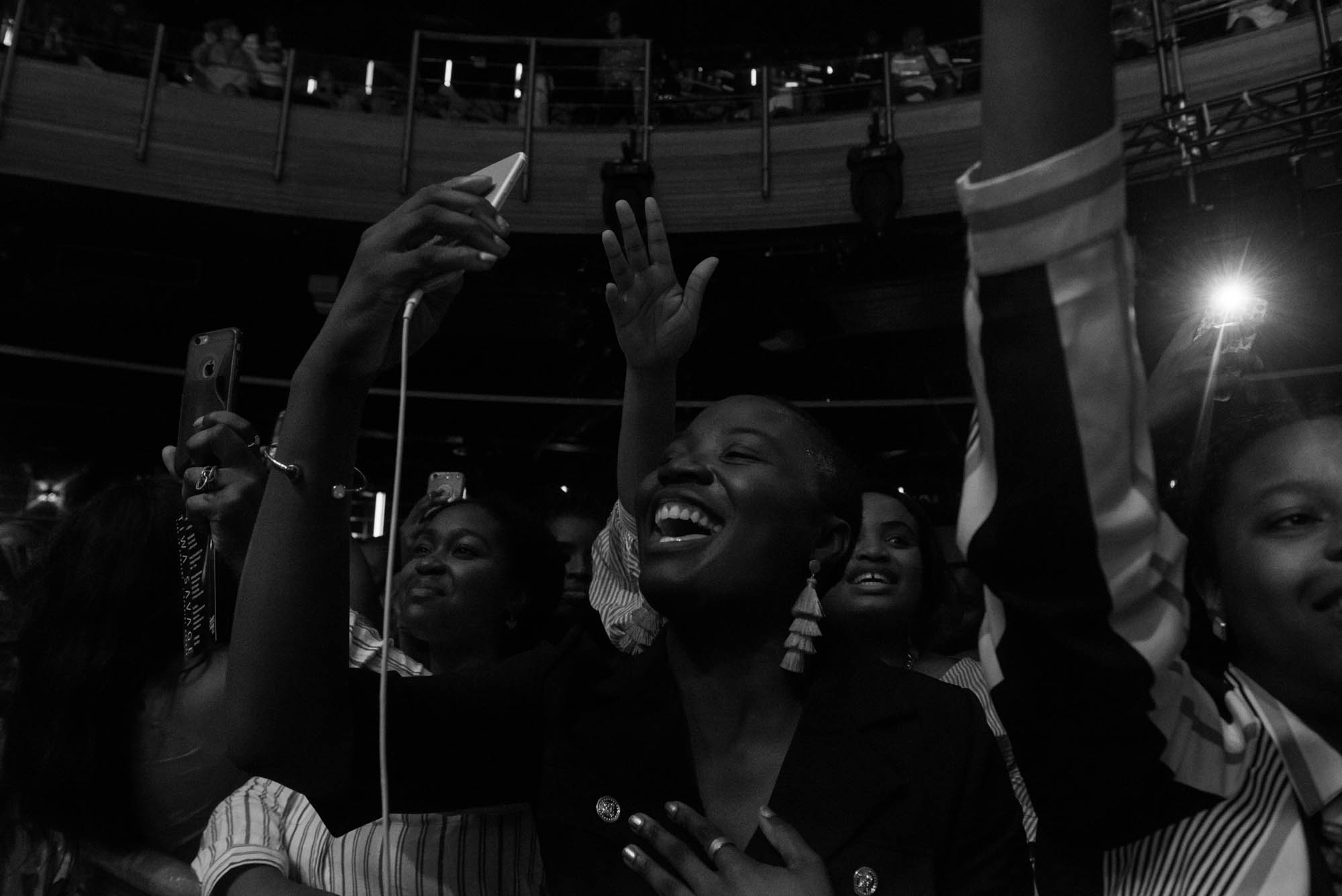 London, United Kingdom.  Adekunle Gold performs live at  the Indigo at the 02. Photographed by Michael Tubes