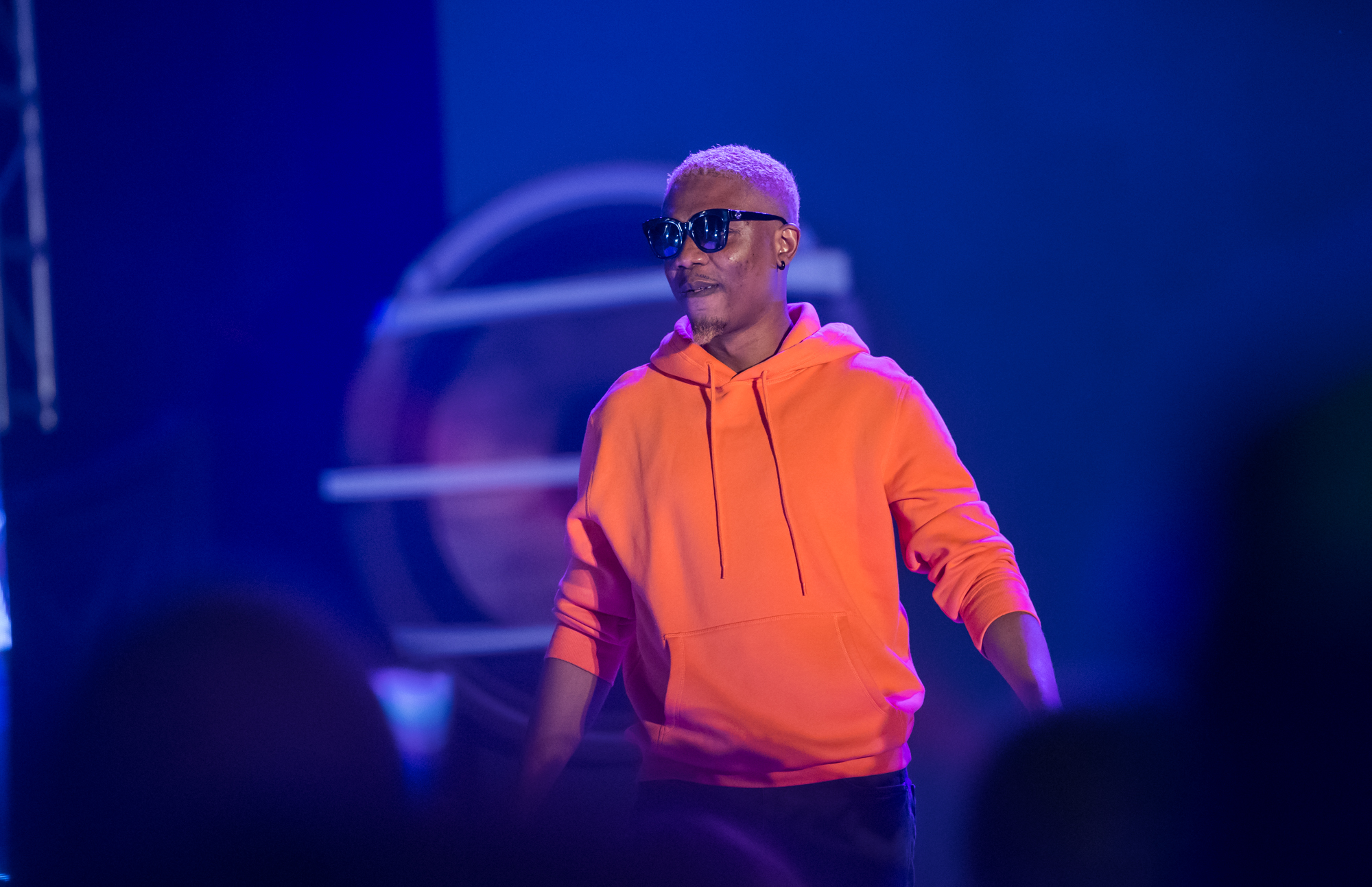 Lagos, Nigeria. 9th November 2018.  Reminisce performing at Human Radio Concert. Photographed by Michael Tubes