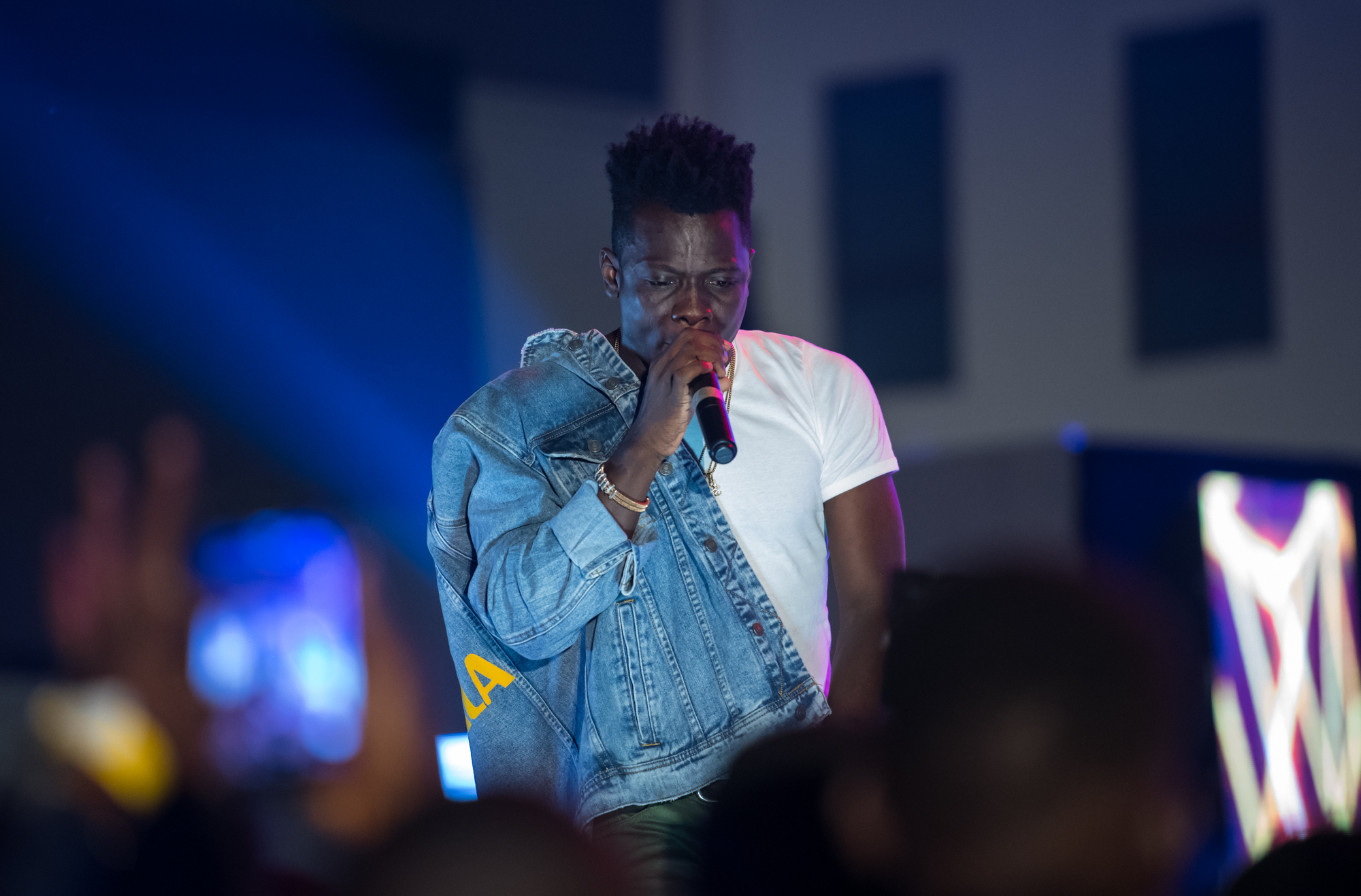 Lagos, Nigeria. 9th November 2018.  Terry Apala performs at her Human Radio Concert. Photographed by Michael Tubes