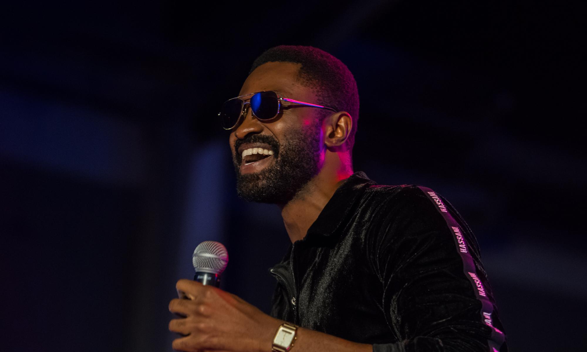 Lagos, Nigeria. 9th November 2018.  Ric Hassani performing at Human Radio Concert. Photographed by Michael Tubes