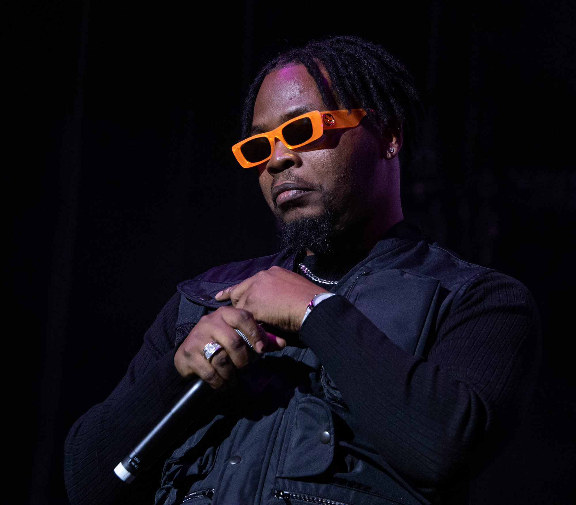 london, United Kingdom. 19th October 2019.  Olamide performing live at starboy fest at The 02 Arena. Photographed by Michael Tubes