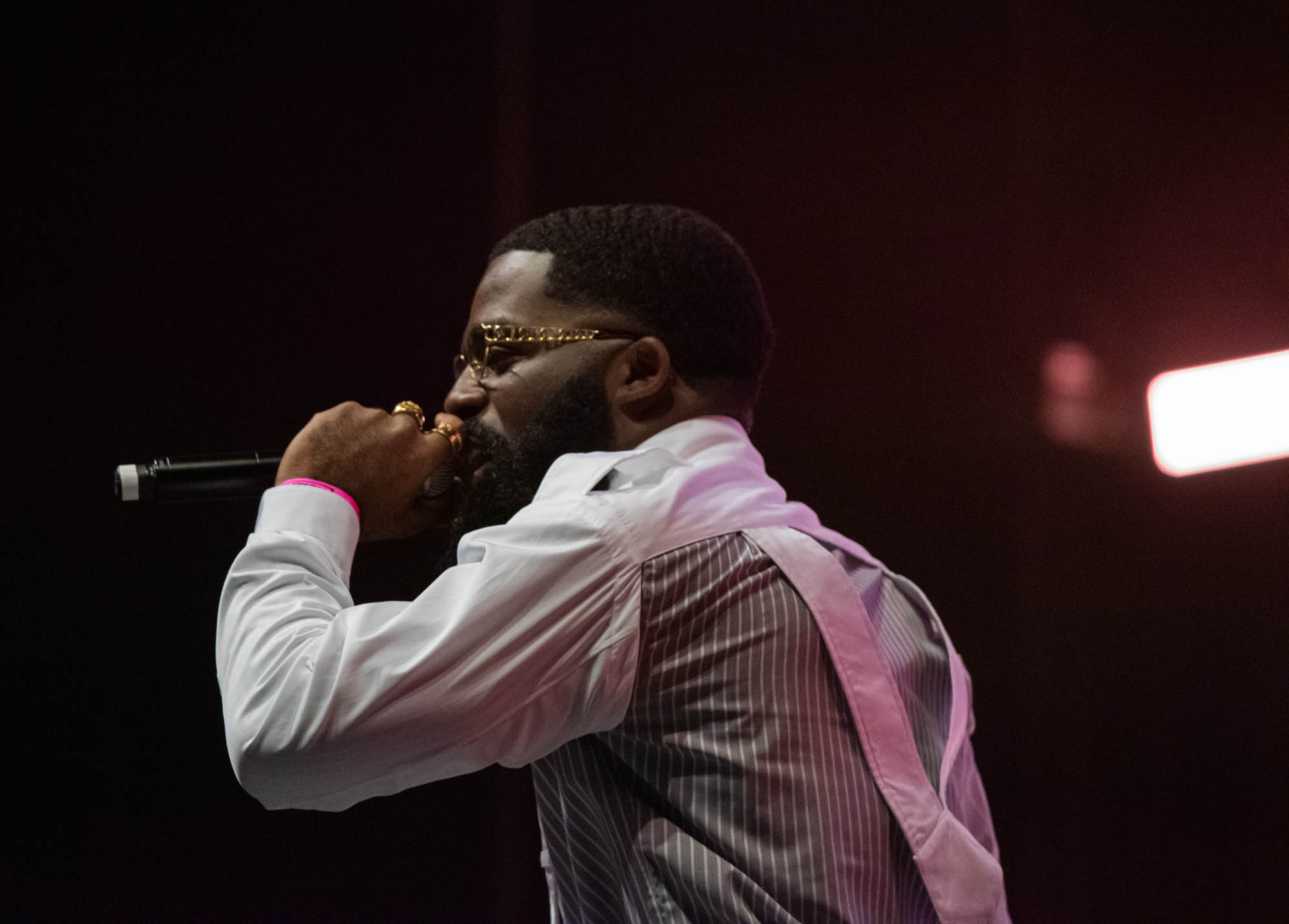 London, United Kingdom. 19th October 2019.  AfroB performing live at starboy fest at The 02 Arena. Photographed by Michael Tubes