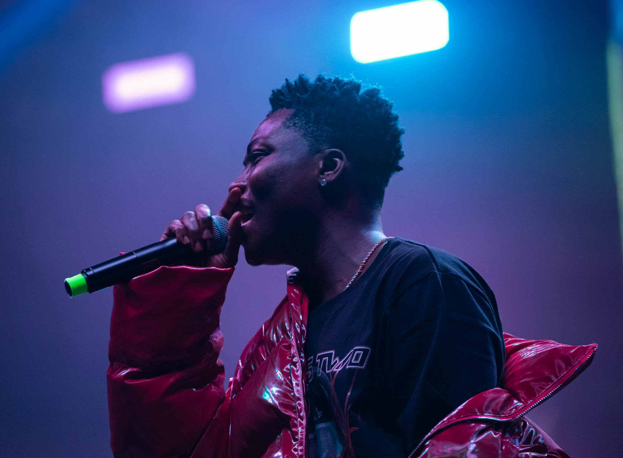 London, United Kingdom. 19th October 2019.  Reekadobanks performing live at starboy fest at The 02 Arena. Photographed by Michael Tubes