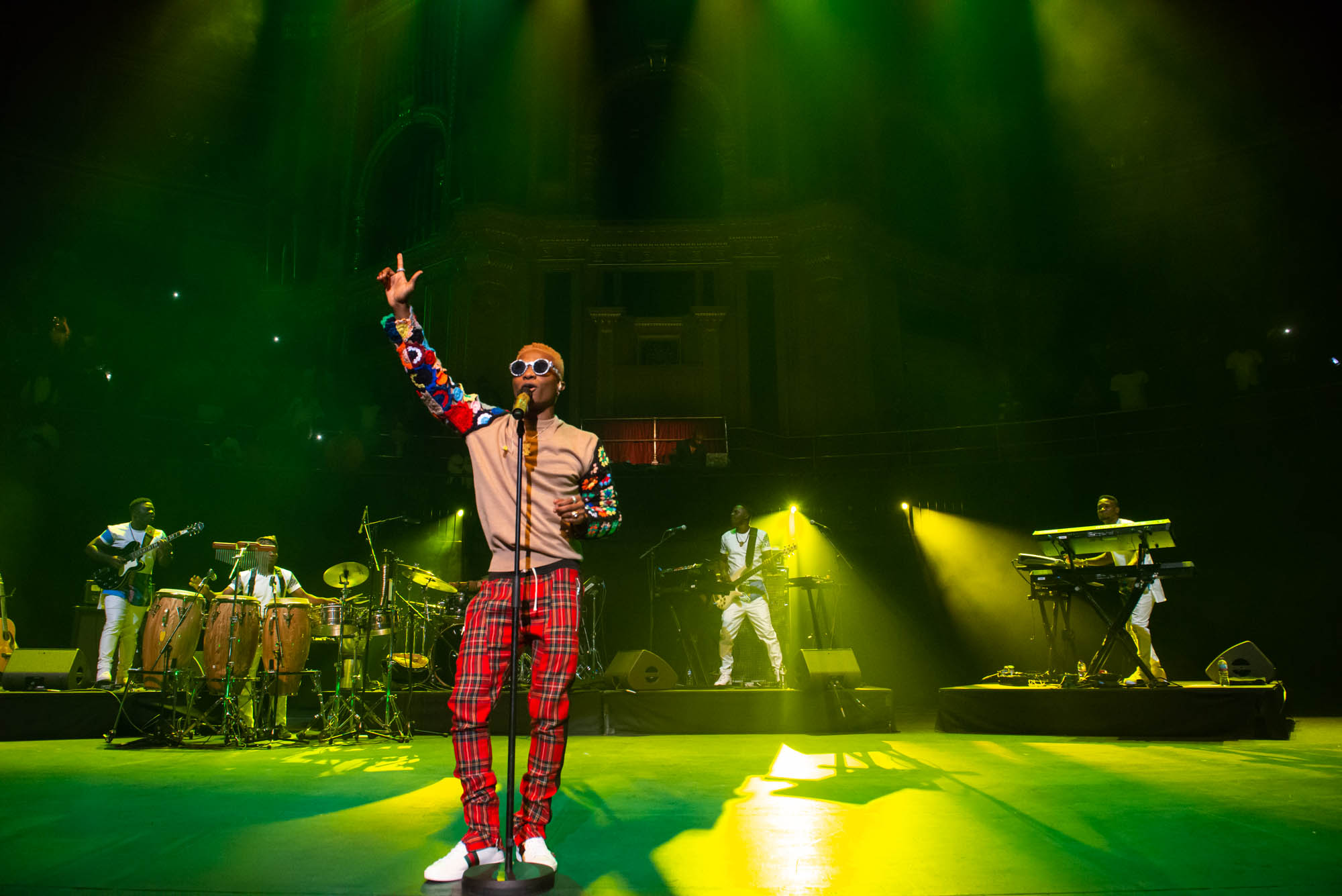London, United Kingdom. 29th September 2017. WIZKID Performing Live At The Royal Albert Hall. Photographed Michael Tubes.